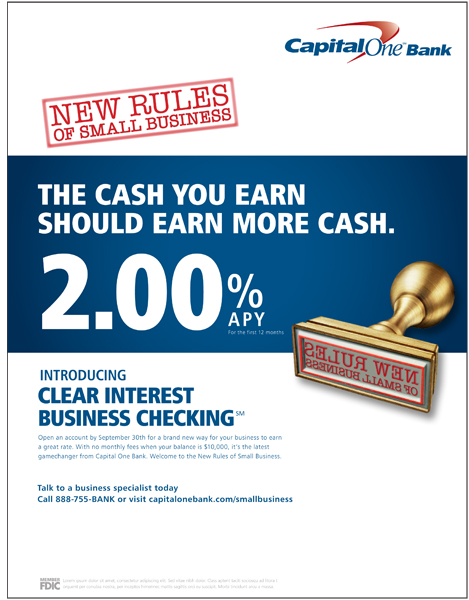 Contact Capital One >> Capital One - New Rules Rate Ads - ianmcalister