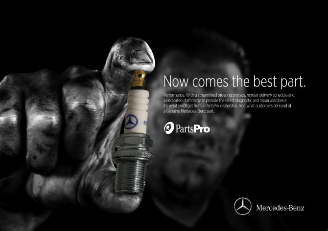 Genuine mercedes benz parts print peter latriano for Mercedes benz genuine parts
