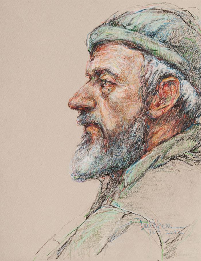 pencil portraits debra balchen