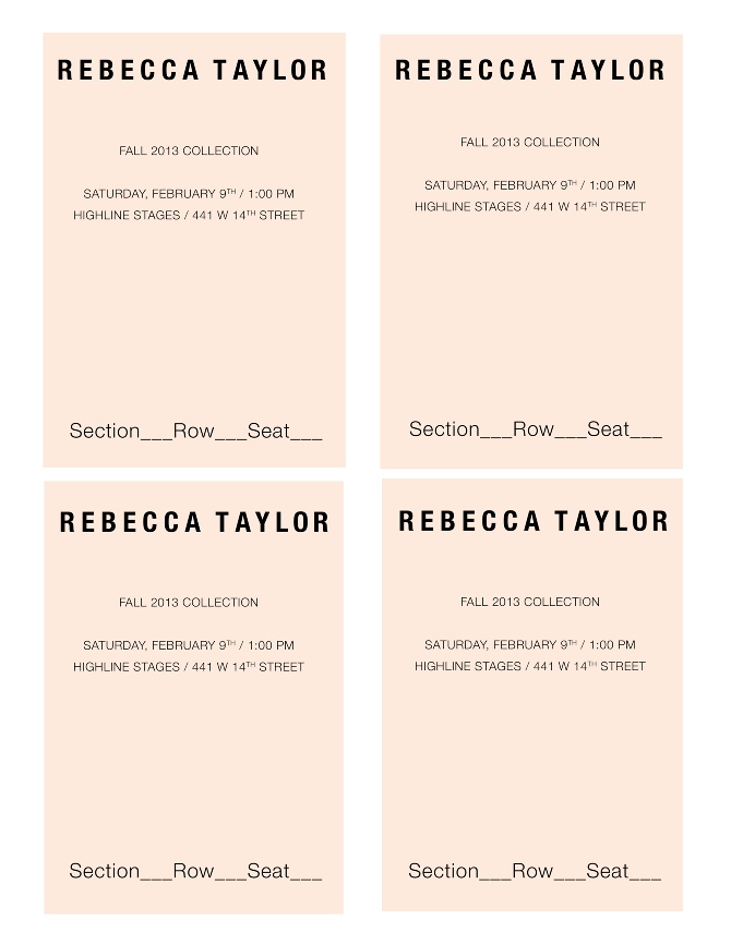 rebecca taylor - rosee canfield | creative
